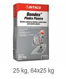 Bondex® Piedra Pizarra  Mortero adhesivo flexible y deformable para piedra pizarra