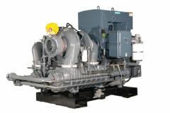 Compresores centrífugos exentos de aceite,
