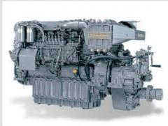 Motores marinos de trabajo continuo (Aplicacion