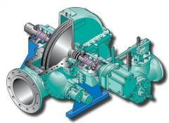 Partes y piezas para turbinas a vapor