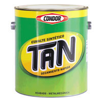 Esmalte pigmentado con aluminio laminar Tan