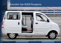 Van N200 Pasajeros de Chevrolet