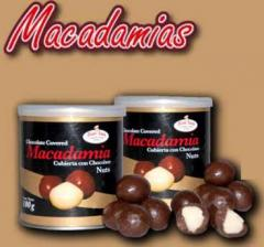 Nuez de Macadamia cubierta de chocolate
