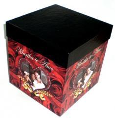 """Caja personalizada """"Romeo & Julieta"""""""