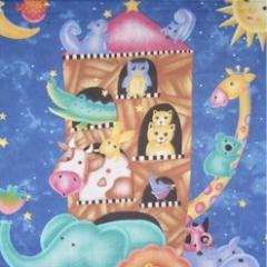 "Edredones ""Arca de Noe - motivos"