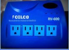 Regulador de Voltaje Automático Celco