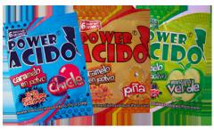 Caramelo en Polvo Power Acido Presentacion: 6 Gr