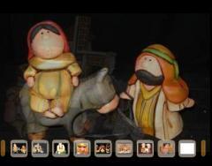 Piezas indigenistas de arcilla