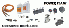 Válvulas y Accesorios Hidráulicos Power Team