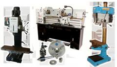 Maquinaria industrial y accesorios para torno y