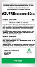 Fungicida Azufre 80% P.M.
