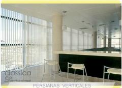 Persianas verticales