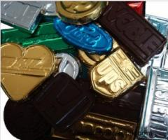 Chocolate with logo