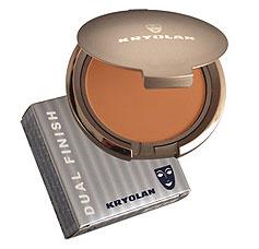 Maquillaje cremoso compacto suave Dual Finish