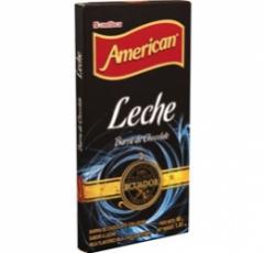 American Chocolate Barra Tableta 40 Gramos