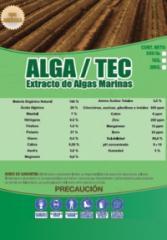 Complejo Orgánico a partir de algas marinas
