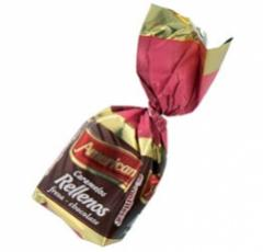 American Caramelo Duro Relleno Surtido 50 unidades
