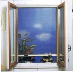 Mallas antimosquitos enrollable vertical y
