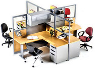 Muebles Modulares de Oficina