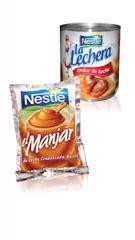 Dulce de Leche y Manjar La Lechera