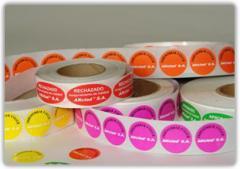 Papeles radiantes-fluorescentes