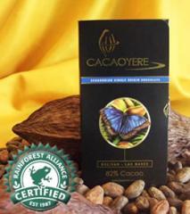 Chocolate con nuezes Las Naves