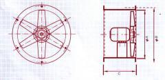 Ventiladores axiales de la serie DT