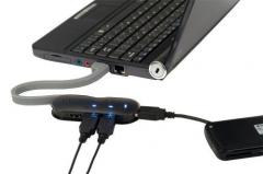 Targus 4-Port Smart USB Hub Ref.  198