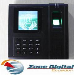 Control Asistencia A Color Biométrico Huella