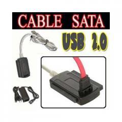 Adaptador de USB a IDE SATA (Estandar USB 2.0)