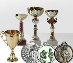 Trofeos, Medallas, Placas