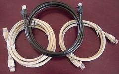 Cordón de conexión RJ45-RJ45 568B C5e