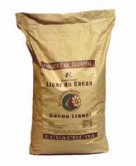 Licor  de cacao orgánico