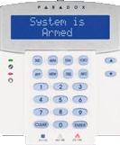 Teclado LCD de 32 Carateres Azul