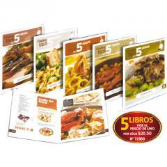 Cocina Fácil en 5 pasos: Carne de cerdo + Arroces
