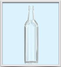 Botella de Vidrio para Licores L-00037