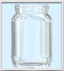 Envase de Vidrio para Alimentos C-07487 / C07495