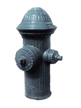 Hydrants, street, hydrant wells