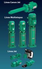 Bombas centrifugas multietapas horizontales y