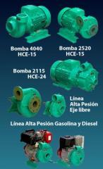 Bombas centrifugas Linea Alta Presión