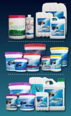 Químicos para el tratamiento de piscinas
