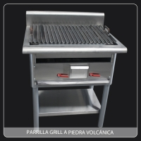 Parrilla Grill a Piedra Volcánica