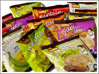 Gourmet snacks under the private label