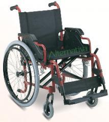 Sillas de ruedas de aluminio desmontables