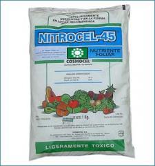 Nutriente foliar Polvo soluble Nitrocel 45