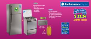 """Refrigeradora 13 pies y Cocina 24"""""""
