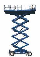 Platforma Scissor Lifts  LX Series