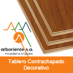 Tablero Contrachapado Decorativo