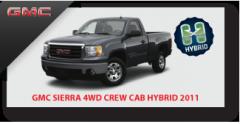 Sierra 4WD Crew Cab Hybrid 2011