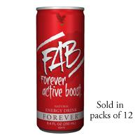 FAB Forever Active Boost ™ Natural Energy Drink
